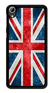 """Humor Gang British Flag Printed Designer Mobile Back Cover For """"HTC DESIRE 826"""" (3D, Glossy, Premium Quality Snap On Case)"""