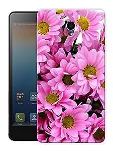 "Humor Gang Pink Flowers Printed Designer Mobile Back Cover For ""Lenovo S860"" (3D, Matte Finish, Premium Quality, Protective Snap On Slim Hard Phone Case, Multi Color)"