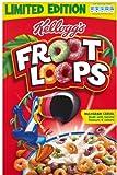 #4: Kelloggs Froot Loops Regular Size 345 g, UK Version (Pack of 4)
