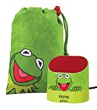 Kermit The Frog Portable Rechargeable Speaker with Carrying Case for MP3 Players/iPhone/iPad, DK-M63