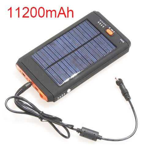 11200mAh Portable Solar Power Bank for Multielectronic Photo