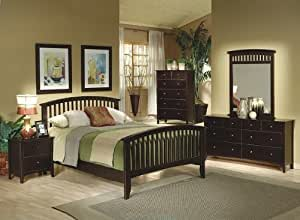 Tia queen bed set with tapered legs by - Cheap bedroom furniture sets under 300 ...