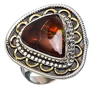 Amazon.com: Ana Silver Co Rare Mexican Fire Agate 925 Sterling Silver