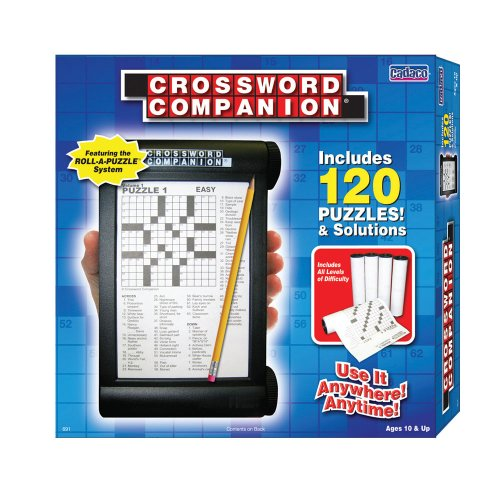 Cadaco Crossword Companion with 120 Puzzle - 1