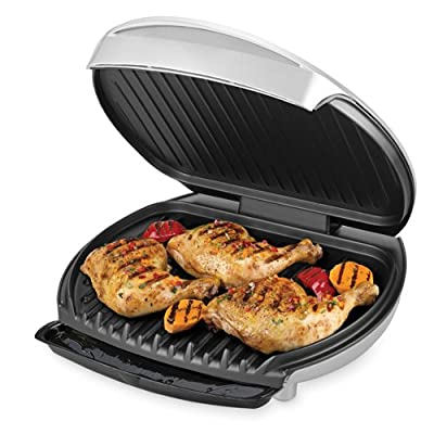 George Foreman GR0030P Jumbo Sized Grill, Platinum from George Foreman