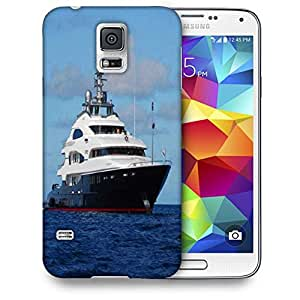 Snoogg Big Boat Sail Printed Protective Phone Back Case Cover For Samsung S5 / S IIIII