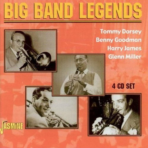 Big Band Legends [ORIGINAL RECORDINGS REMASTERED] 4CD SET by Tommy Dorsey, Benny Goodman, Harry James and Glenn Miller
