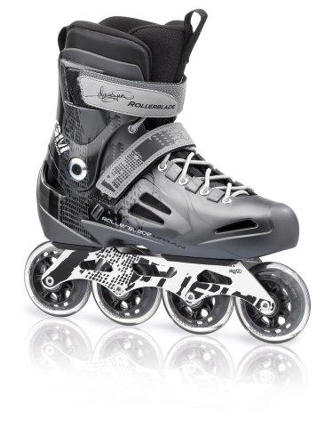 Rollerblade-Mens-Fusion-84-GM-Bio-Plastic-Urban-Skate-Grey-Mens-US-6