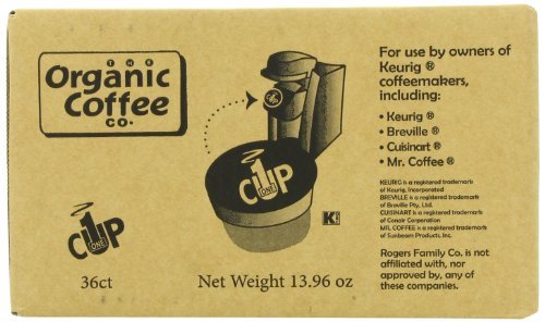 New San Francisco Bay Coffee OneCup for Keurig K-Cup Brewers, French Roast, 36-Count