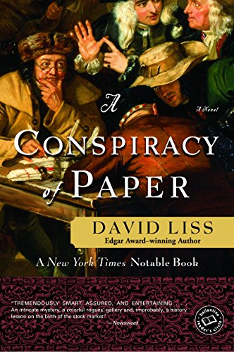David Liss - A Conspiracy of Paper