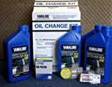 Yamalube-F75 ~ F115 Outboard Oil Change Kit (10W30 Fc Qty5)
