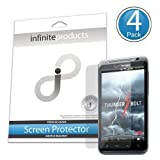 Infinite Products Quasar Screen Protectors for HTC ThunderBolt (4 Pack) DIAMOND ~ Infinite Products