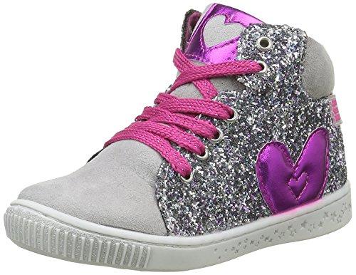 Agatha Ruiz de la PradaFrisco - Sneaker Bambina , Argento (Argent (B Gris/Plata)), 32