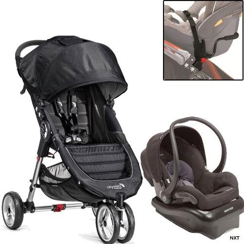 Baby Jogger - City Mini Mico-Nxt Travel System - Black Gray