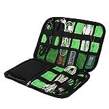 (バッグ・マート)Bags-mart ACアダプター PC周辺小物用収納ポーチ ゴム・バンドが縫い付け