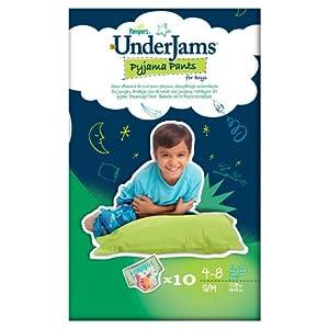 Pampers Underjams Boy (S/M) 4 x Packs of 10 Pants--40 Pants