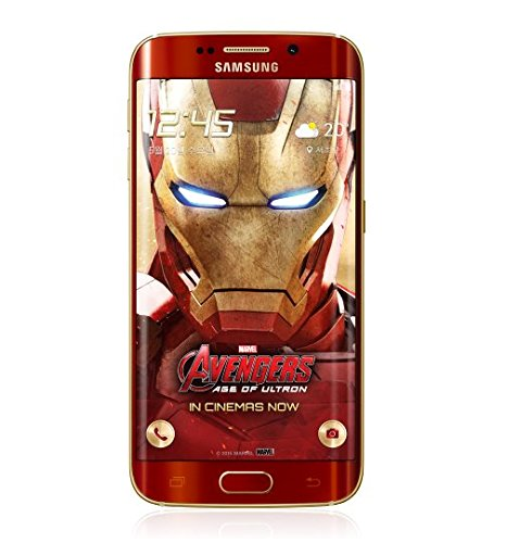 Galaxy S6 Edge 64GB Iron Man Limited Edition Unlocked International Version