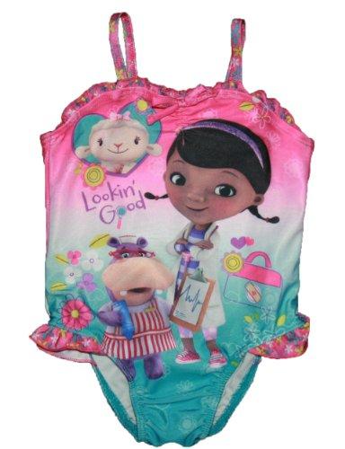 Doc Mcstuffins Toddler Girls 2T-4T One Piece Swimsuit (4T) front-92596