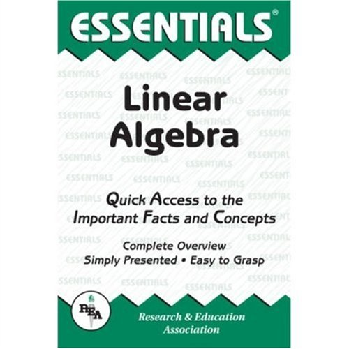Linear Algebra (Essentials)