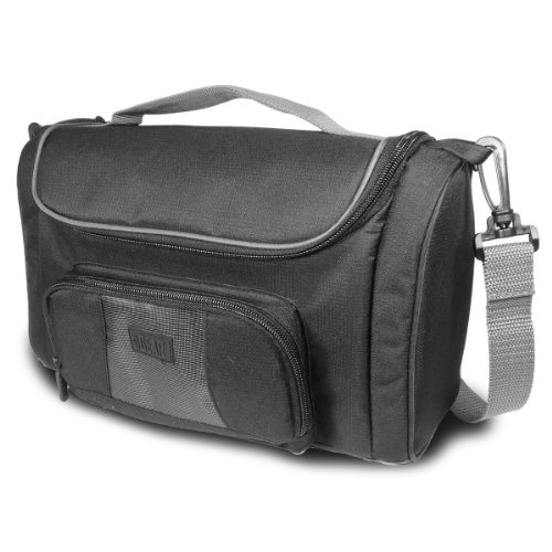 USA GEAR Portable Photo Printer Carrying Case & Messenger Travel Bag- Works with Canon Selphy CP800 , CP780 , CP760 & PowerShot , EOS and Rebel Digital Cameras , Accessories & More!