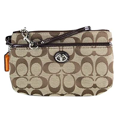 Best Cheap Deal for COACH Park Signature Medium Wristlet by Coach - Free 2 Day Shipping Available