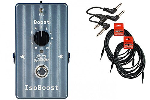 Suhr Iso Boost Cable Bundle w/ free 4 Items: 2x 18.6