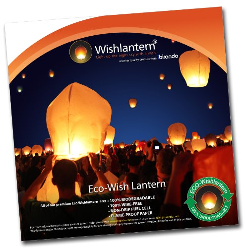 Eco Wishlantern® (Pack of 10) Wishlantern® B00473Z7MC