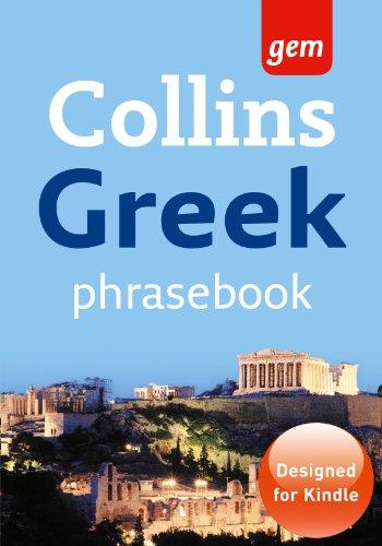 Greek Phrasebook (Collins Gem)