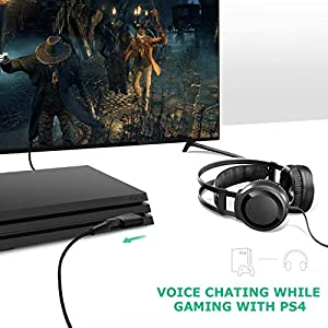 LZYCO USB External Stereo Audio Sound Adapter with 3.5mm Speaker/Headphone and Microphone Jacks. Plug and Play No Drivers Needed.(Black) (Color: Black)