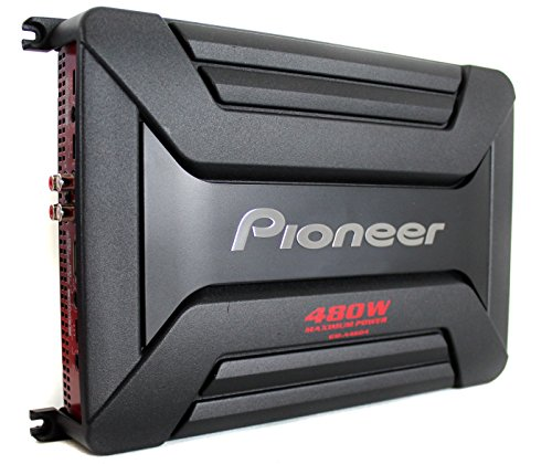 PIOGMA4604 - PIONEER GM-A4604 GM Series Class AB Amp (4 Channel, 480W)