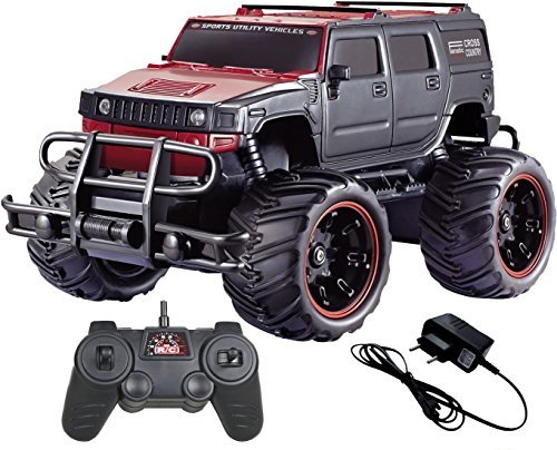 MousePotato 1:16 Hummer Rock Crawler Monster Truck Racing Car Rechargeable