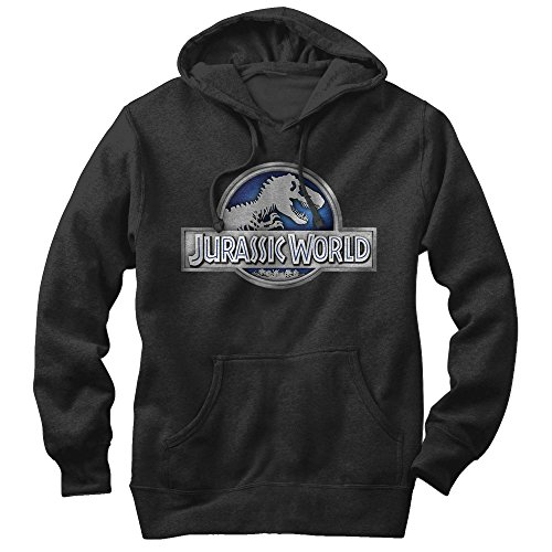 Jurassic World T. Rex Logo Mens XL Graphic Lightweight Hoodie - Fifth Sun