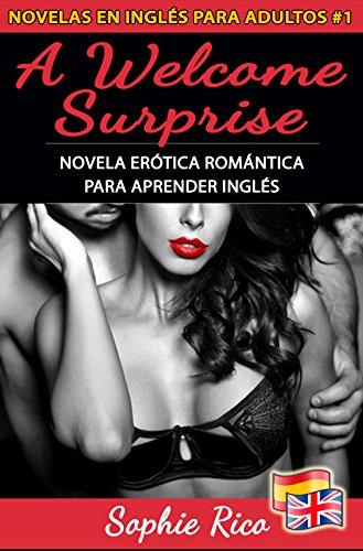 A Welcome Surprise: Novela Erótica Romántica para Aprender Inglés: Textos Paralelos Bilingües Inglés - Español (Novelas en Inglés para Adultos nº 1)