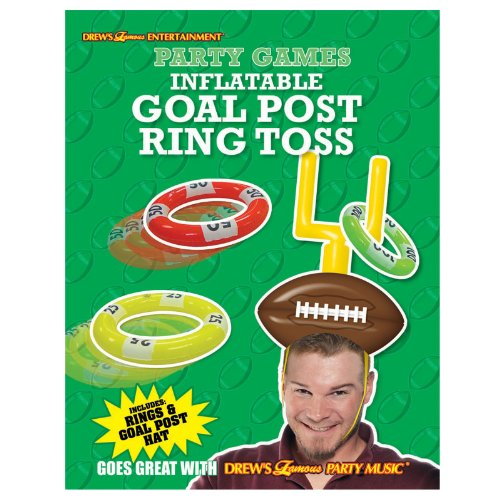 Amscan Football Goal Post Ring Toss Game - 1