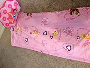 Amazon Com Disney Princess Sleeping Bag And Pillow