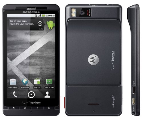 Android Motorola Products: Motorola Droid X MB810 Android ...