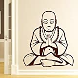Decal Style Buddha Wall Sticker Small Size-19*21 Inch - B00WSM178M