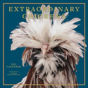 Extraordinary Chickens 2013 Wall Calendar Stephen Green-Armytage