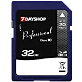 7dayshop Professional High-Speed Secure Digital High Capacity – SD HC Memory Card – 32GB – Class 10 – 20MB/s Picture