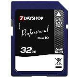 7dayshop Professional High-Speed SDHC Memory Card - 32GB - Class 10by 7dayshop