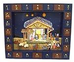 Kurt Adler J3767  Wooden Nativity Adv...