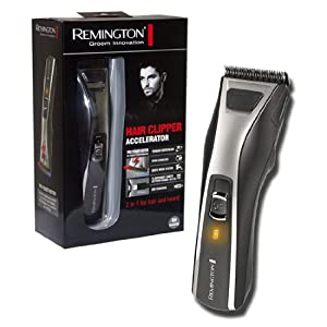 new remington hc5550 hair beard clippers trimmer cord cordless usb mains char. Black Bedroom Furniture Sets. Home Design Ideas