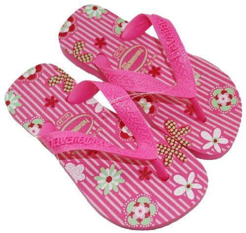 Cheap Havaianas 2010 Toddler/ Little Kid Flip Flops Slippers Flores Pink (B0036NVRNM)