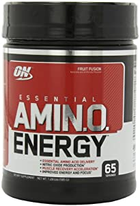Optimum Nutrition Amino Energy 65 Servings, Fruit Fusion, 585 Grams