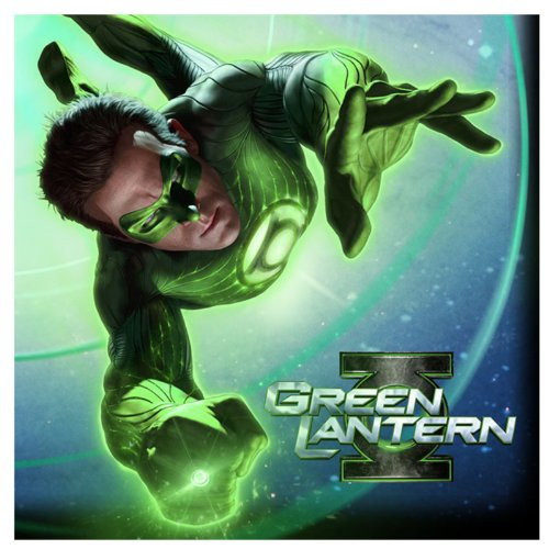Green Lantern Large Napkins (16ct) - 1