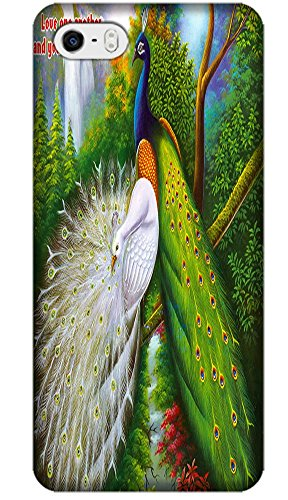 Beautiful Peacock Cell Phone Cases Design Special For Iphone 5/5S No.9