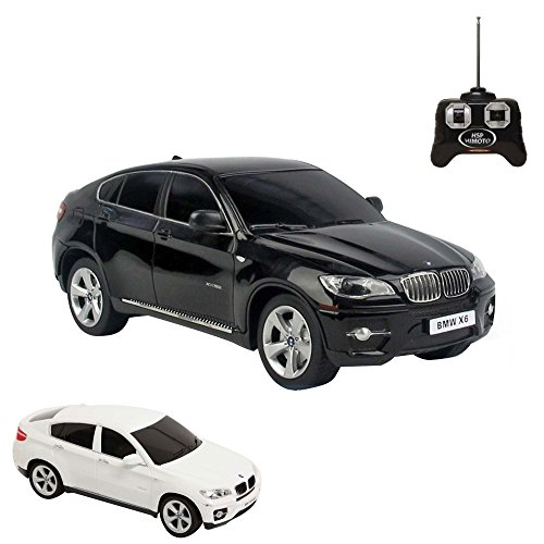 BMW-X6-RC-ferngesteuertes-Lizenz-Auto-im-Original-Design-Modell-Mastab-124inkl-Fernsteuerung