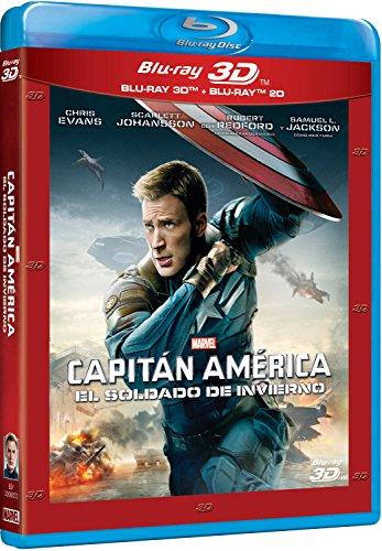 Capitán América: El Soldado De Invierno (BD 2D + BD 3D)) [Blu-ray]