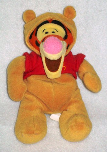 Tigger As Pooh Halloween - Disney Mini Bean Bag Plush by Halloween Plush - 1