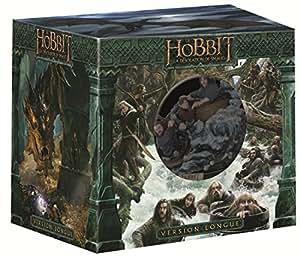 Le Hobbit : La désolation de Smaug [Version longue + Statue collector - Blu-ray 3D + Blu-ray + DVD + Copie digitale - Édition Limitée]